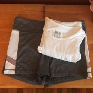 Workout Set (Nike Dryfit and shorts)